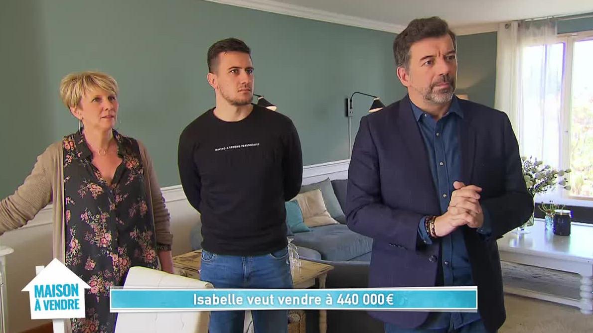 Replay Maison à vendre, Isabelle / Adeline et Gaétan du M9