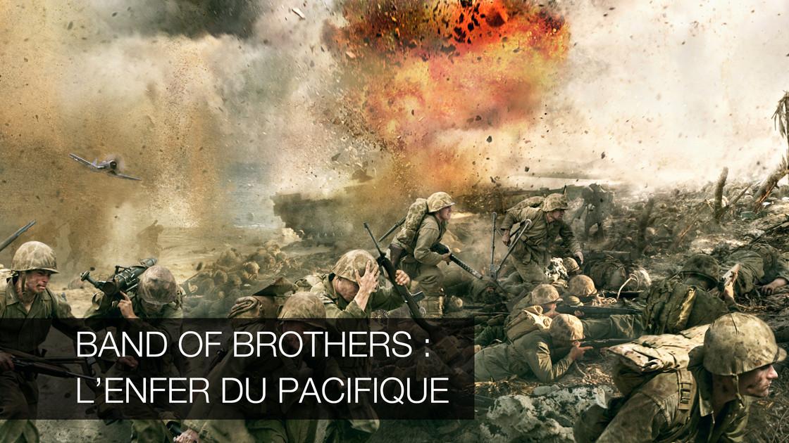 band of brother l 39 enfer du pacifique en replay sur 6play rediffusion gratuite en streaming. Black Bedroom Furniture Sets. Home Design Ideas
