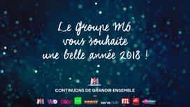 M6 recommande : Bonne année 2018 de la part du Groupe M6