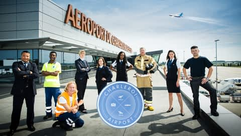 Charleroi Airport en replay