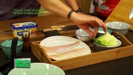 Martin Bonheur : Tacaud, crème de pommes de terre et laitue wasabi