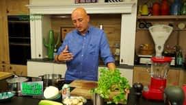 Martin Bonheur : Céleri boule aux champignons