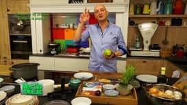 Martin Bonheur : carpaccio de jambon Ganda à la papaye