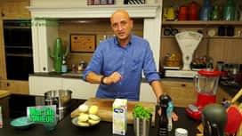 Martin Bonheur : Soupe d'artichauds au lait d'amandes
