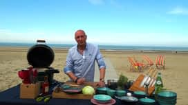 Martin Bonheur : Ceviche de rouget à Bredene