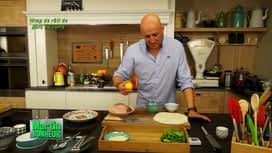 Martin Bonheur : Wrap de rôti de porc au curry