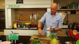 Martin Bonheur : Céleri rave cuit au lait de cajou