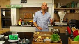 Martin Bonheur : Soupe de topinambours aux lait d'amandes