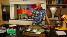 Martin Bonheur : Clafoutis, fraises et ricotta