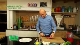 Martin Bonheur : Carpaccio de boeuf aux champignons crus