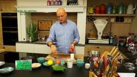 Martin Bonheur : Salade de pêches au crabe
