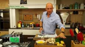 Martin Bonheur : Polenta fraîche, maïs, pommes de terre aux champignons