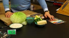 Martin Bonheur : Risotto de jambon Ganda à la frisée