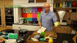 Martin Bonheur : Cabillaud croustillant, tomates confites au basilic