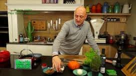 Martin Bonheur : Potage potiron, faux gras et châtaignes