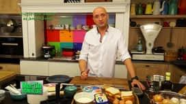 Martin Bonheur : croque-tarte gruyère au jambon Ganda
