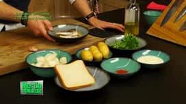 Martin Bonheur : Brandade de sardines à l'huile sur kroupouk