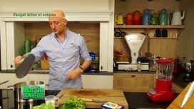 Martin Bonheur : Rouget à la laitue cresson
