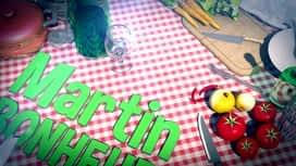 Martin Bonheur : Carpaccio de mangue à la mousse mascarpone