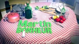 Martin Bonheur : Carpaccio de boeuf et champignons crus