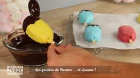 Le meilleur pâtissier : Le gâteau en forme de glace de Roxane et Louane