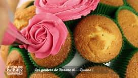 Le meilleur pâtissier : Le bouquet de fleur en cupcake de Roxane et Louane
