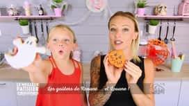 Le meilleur pâtissier : Les biscuits citrouilles de Roxane et Louane