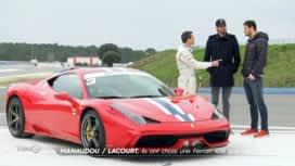 Turbo : Duel de stars : Manaudou / Lacourt : ils ont choisi une Ferrari 458 spéciale !