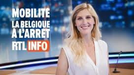Mobilité: la Belgique à l'arrêt en replay