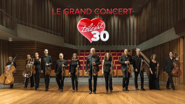Le grand concert du 30ème Télévie