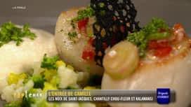 Top Chef : L'entrée de Camille