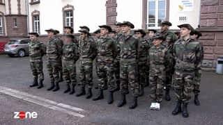 Volontaires du nouveau service militaire : l'année qui va changer leur vie