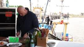 Martin Bonheur : salade de poulpe vinaigrette aux herbes