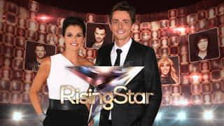 Rising star, les prestations