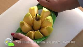 Fruits et légumes: des astuces pour en consommer tous les jours !