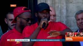 Les Diables Rouges: le retour : Discours de Romelu Lukaku