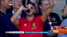 Les Diables Rouges: le retour : Discours d'Eden Hazard