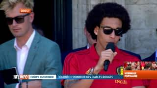 Discours d'Axel Witsel