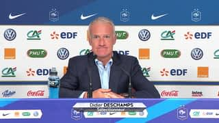 Conférence de presse de Didier Deschamps le 30/08/2018