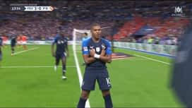 Ligue des Nations : But de Kylian Mbappé !  (13') (1-0)