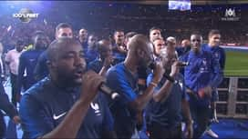 Equipe de France : Magic System - Magic In The Air (feat Ahmed Chawki) au Stade de France