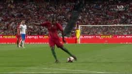 Ligue des Nations : Frappe de Carvalho ! (35') (0-0)