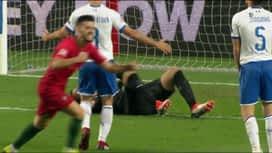 Ligue des Nations : But d'André Silva pour le Portugal ! (48') (1-0)