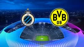 Champions League : FC Bruges - Dortmund