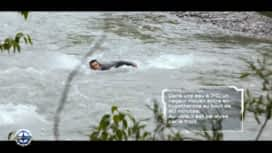 Cap Horn : Arnaud Ducret traverse à la nage une rivière à 7°C  !