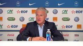 Equipe de France : Conférence de presse de Didier Deschamps avant France-Islande et France-Allemagne