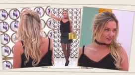 Les reines du shopping : Pauline défile pour être sexy avec une jupe en cuir