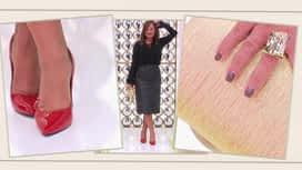 Les reines du shopping : Silvana défile pour être sexy avec une jupe en cuir