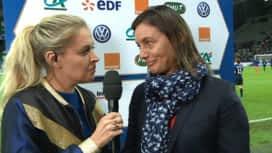 Football - Équipe de france féminine : L'interview de Corinne Diacre, sélectionneure de l'équipe de France féminine de football