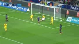 Football - Équipe de france féminine : France - Australie (56') : but d'Eugénie Le Sommer (1 - 0)